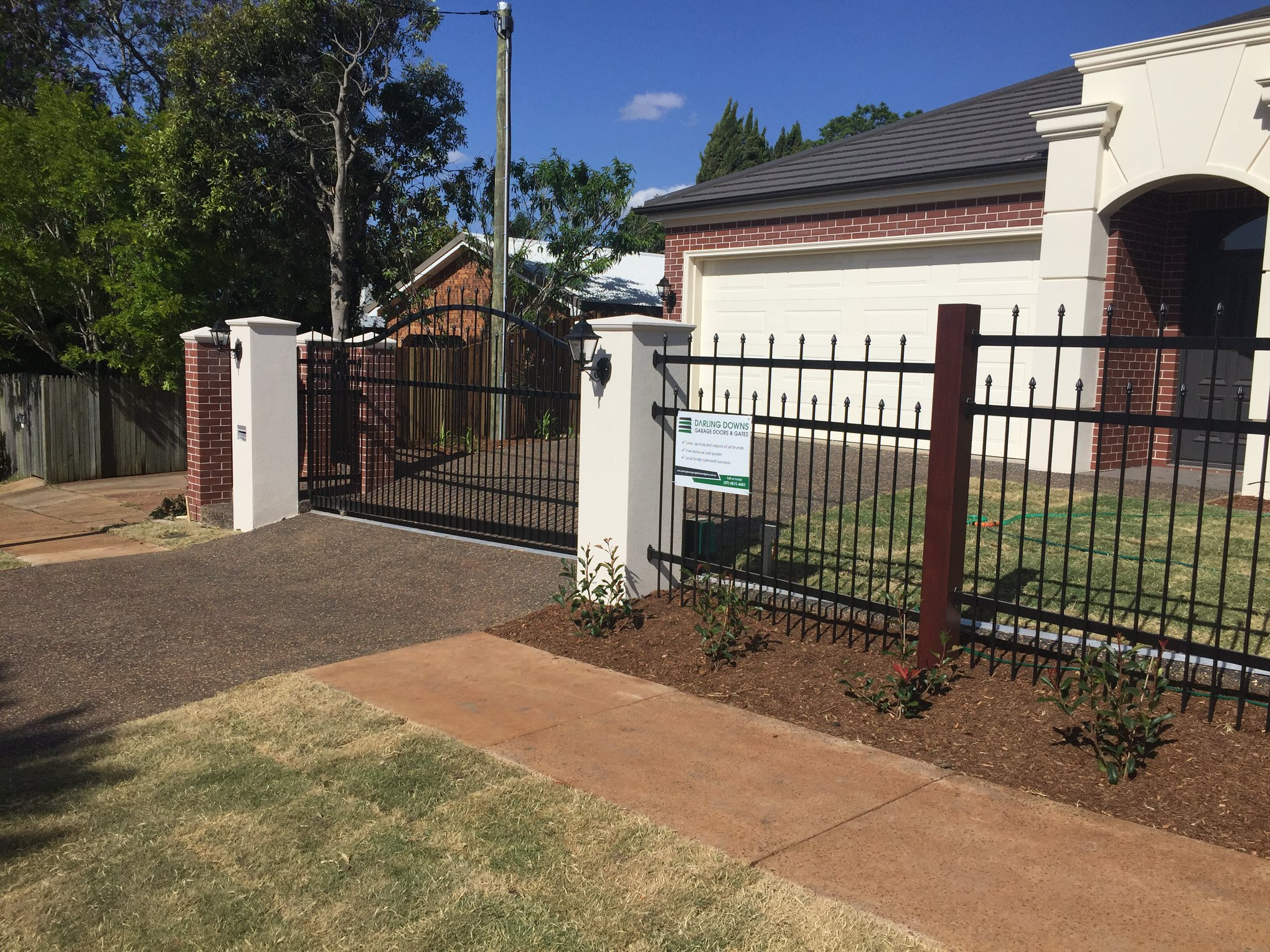 toowoomba infill panel sliding gate